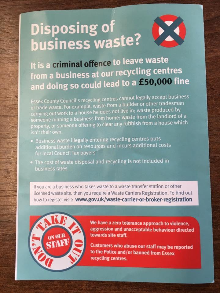 Findaskip - Disposing of business waste